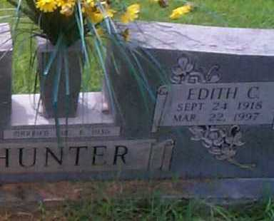 BROWN HUNTER, EDITH C. - Sebastian County, Arkansas | EDITH C. BROWN HUNTER - Arkansas Gravestone Photos