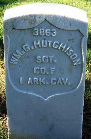 HUTCHISON (VETERAN UNION), WILLIAM G - Sebastian County, Arkansas | WILLIAM G HUTCHISON (VETERAN UNION) - Arkansas Gravestone Photos