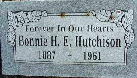 HUTCHISON, BONNIE H. E. - Sebastian County, Arkansas | BONNIE H. E. HUTCHISON - Arkansas Gravestone Photos