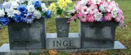 INGE, CECIAL O. - Sebastian County, Arkansas | CECIAL O. INGE - Arkansas Gravestone Photos