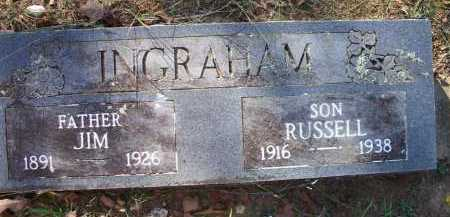 INGRAHAM, JIM - Sebastian County, Arkansas | JIM INGRAHAM - Arkansas Gravestone Photos