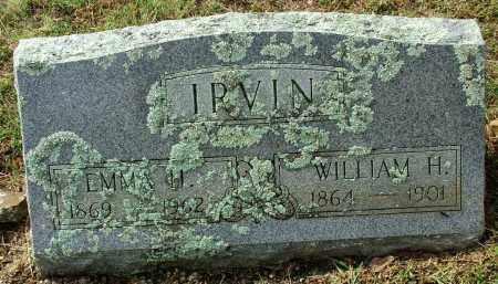 IRVIN, EMMA H. - Sebastian County, Arkansas | EMMA H. IRVIN - Arkansas Gravestone Photos