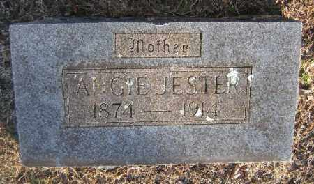 JESTER, ANGIE - Sebastian County, Arkansas | ANGIE JESTER - Arkansas Gravestone Photos