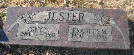 JESTER, FRANCES M. - Sebastian County, Arkansas | FRANCES M. JESTER - Arkansas Gravestone Photos