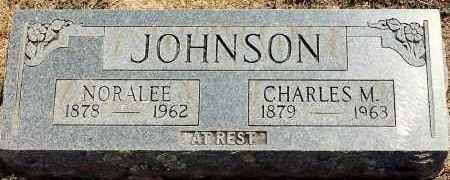 JOHNSON, CHARLES M. - Sebastian County, Arkansas | CHARLES M. JOHNSON - Arkansas Gravestone Photos