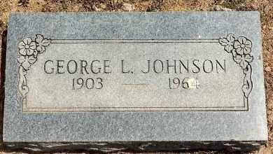JOHNSON, GEORGE L. - Sebastian County, Arkansas | GEORGE L. JOHNSON - Arkansas Gravestone Photos