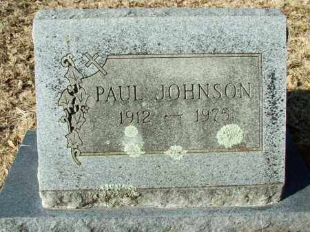 JOHNSON, PAUL - Sebastian County, Arkansas | PAUL JOHNSON - Arkansas Gravestone Photos