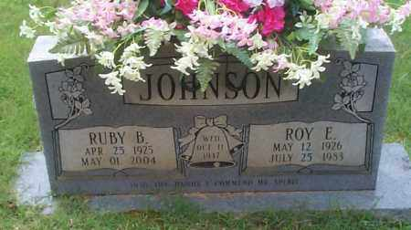 JOHNSON, ROY E - Sebastian County, Arkansas | ROY E JOHNSON - Arkansas Gravestone Photos