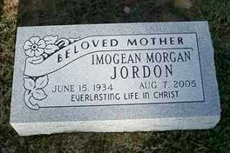 MORGAN JORDON, IMOGEAN - Sebastian County, Arkansas | IMOGEAN MORGAN JORDON - Arkansas Gravestone Photos