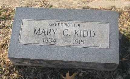 KIDD, MARY C. - Sebastian County, Arkansas | MARY C. KIDD - Arkansas Gravestone Photos