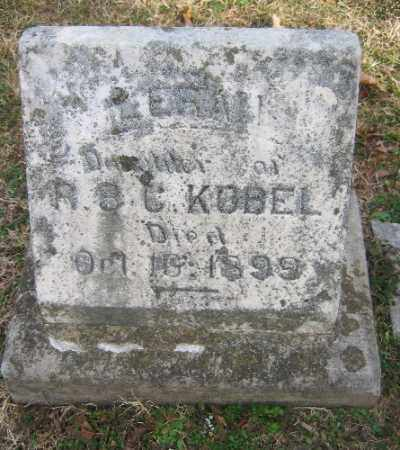 KOBEL, LERA - Sebastian County, Arkansas | LERA KOBEL - Arkansas Gravestone Photos