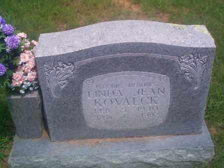 KOVALCK, LINDA JEAN - Sebastian County, Arkansas | LINDA JEAN KOVALCK - Arkansas Gravestone Photos