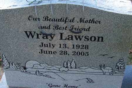LAWSON, WRAY - Sebastian County, Arkansas | WRAY LAWSON - Arkansas Gravestone Photos