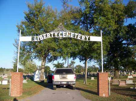 *LIBERTY CEMETERY SIGN,  - Sebastian County, Arkansas |  *LIBERTY CEMETERY SIGN - Arkansas Gravestone Photos
