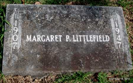 LITTLEFIELD, MARGARET P - Sebastian County, Arkansas | MARGARET P LITTLEFIELD - Arkansas Gravestone Photos