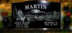 MARTIN, ALICE MARIE - Sebastian County, Arkansas | ALICE MARIE MARTIN - Arkansas Gravestone Photos