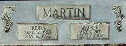 MARTIN, WALKER - Sebastian County, Arkansas | WALKER MARTIN - Arkansas Gravestone Photos
