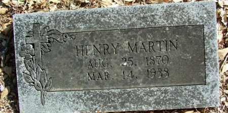 MARTIN, HENRY - Sebastian County, Arkansas | HENRY MARTIN - Arkansas Gravestone Photos