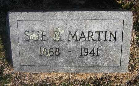 MARTIN, SUE B. - Sebastian County, Arkansas | SUE B. MARTIN - Arkansas Gravestone Photos