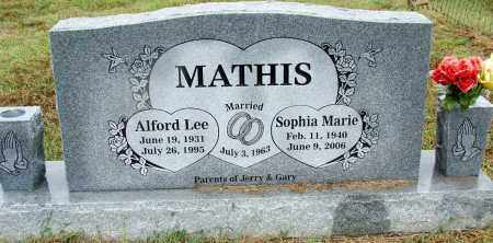 MATHIS, SOPHIA MARIE - Sebastian County, Arkansas | SOPHIA MARIE MATHIS - Arkansas Gravestone Photos