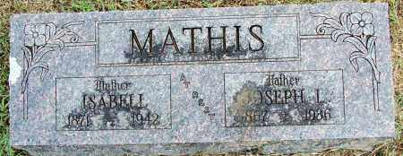 MATHIS, ISABELL - Sebastian County, Arkansas | ISABELL MATHIS - Arkansas Gravestone Photos