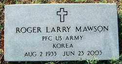 MAWSON (VETERAN KOR), ROGER LARRY - Sebastian County, Arkansas | ROGER LARRY MAWSON (VETERAN KOR) - Arkansas Gravestone Photos