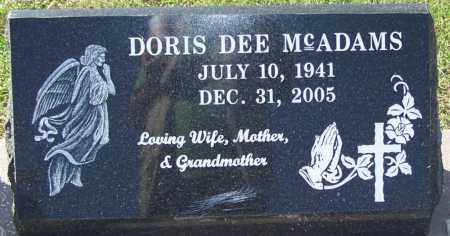 MCADAMS, DORIS DEE - Sebastian County, Arkansas | DORIS DEE MCADAMS - Arkansas Gravestone Photos