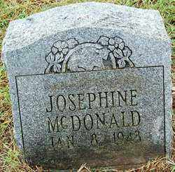 MCDONALD, JOSEPHINE - Sebastian County, Arkansas | JOSEPHINE MCDONALD - Arkansas Gravestone Photos