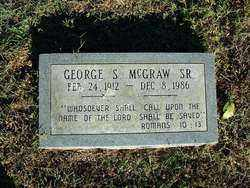 MCGRAW, SR, GEORGE S - Sebastian County, Arkansas | GEORGE S MCGRAW, SR - Arkansas Gravestone Photos