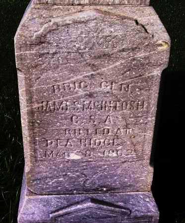 MCINTOSH (VETERAN CSA: FAMOUS), JAMES MCQUEEN - Sebastian County, Arkansas   JAMES MCQUEEN MCINTOSH (VETERAN CSA: FAMOUS) - Arkansas Gravestone Photos