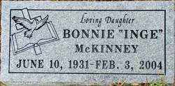 "MCKINNEY, BONNIE ""INGE"" - Sebastian County, Arkansas 