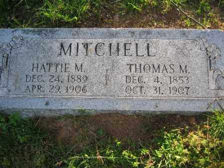 MITCHELL, HATTIE M. - Sebastian County, Arkansas | HATTIE M. MITCHELL - Arkansas Gravestone Photos