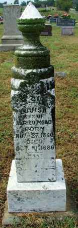 MOAD, LOUISA - Sebastian County, Arkansas | LOUISA MOAD - Arkansas Gravestone Photos