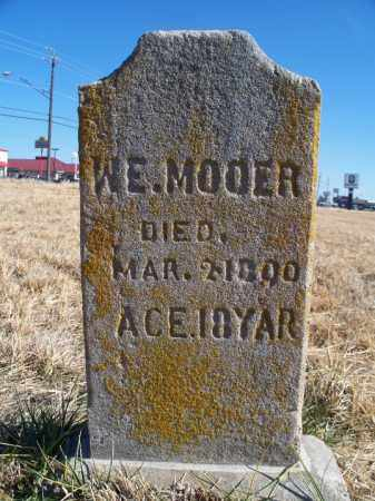 MOOER, W  E - Sebastian County, Arkansas | W  E MOOER - Arkansas Gravestone Photos