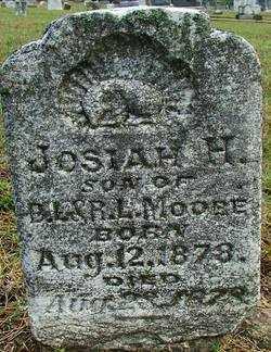 MOORE, JOSIAH H. - Sebastian County, Arkansas | JOSIAH H. MOORE - Arkansas Gravestone Photos