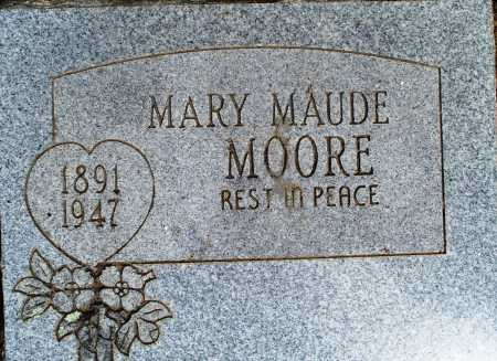 GLASS MOORE, MARY MAUDE - Sebastian County, Arkansas | MARY MAUDE GLASS MOORE - Arkansas Gravestone Photos