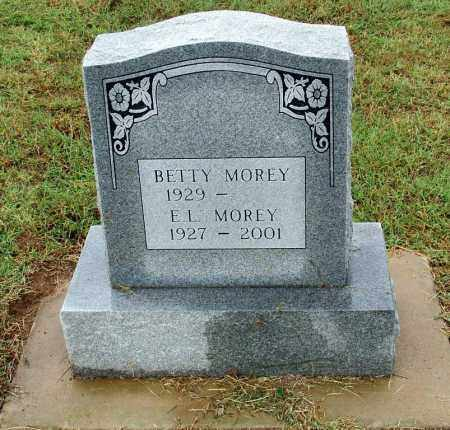 MOREY, E. L. - Sebastian County, Arkansas | E. L. MOREY - Arkansas Gravestone Photos