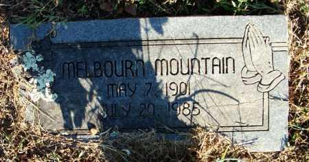 MOUNTAIN, MELBOURN - Sebastian County, Arkansas | MELBOURN MOUNTAIN - Arkansas Gravestone Photos