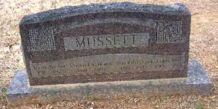 MUSSETT, JOHN RUSSELL - Sebastian County, Arkansas | JOHN RUSSELL MUSSETT - Arkansas Gravestone Photos