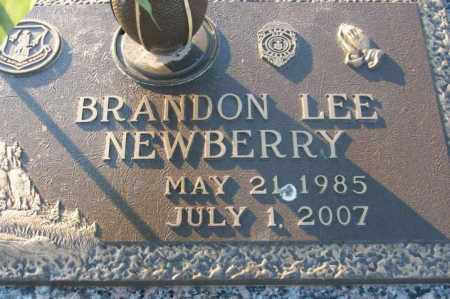 NEWBERRY, BRANDON LEE - Sebastian County, Arkansas | BRANDON LEE NEWBERRY - Arkansas Gravestone Photos
