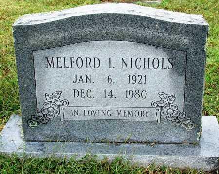 NICHOLS, MELFORD I - Sebastian County, Arkansas | MELFORD I NICHOLS - Arkansas Gravestone Photos