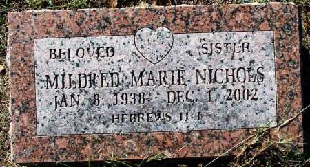 NICHOLS, MILDRED MARIE - Sebastian County, Arkansas | MILDRED MARIE NICHOLS - Arkansas Gravestone Photos