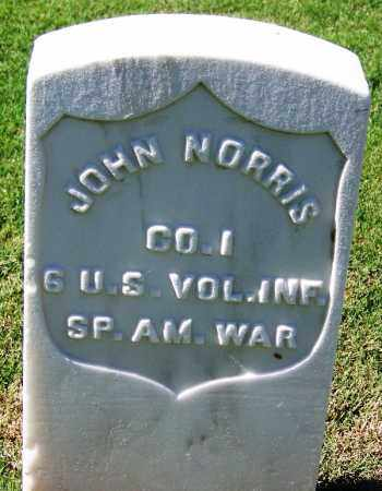 NORRIS (VETERAN SAW), JOHN - Sebastian County, Arkansas | JOHN NORRIS (VETERAN SAW) - Arkansas Gravestone Photos