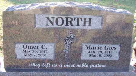 NORTH, OMER C. - Sebastian County, Arkansas | OMER C. NORTH - Arkansas Gravestone Photos