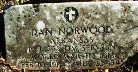 NORWOOD (VETERAN WWII), DAN - Sebastian County, Arkansas | DAN NORWOOD (VETERAN WWII) - Arkansas Gravestone Photos