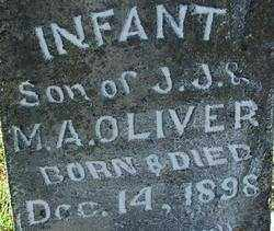 OLIVER, INFANT SON (2) - Sebastian County, Arkansas | INFANT SON (2) OLIVER - Arkansas Gravestone Photos