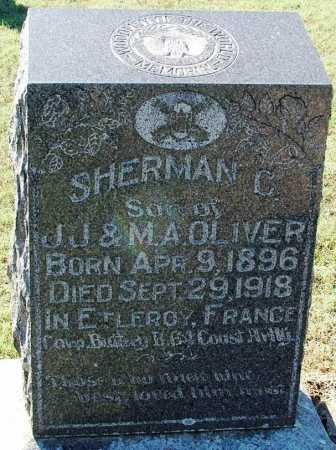 OLIVER (VETERAN WWI), SHERMAN C - Sebastian County, Arkansas | SHERMAN C OLIVER (VETERAN WWI) - Arkansas Gravestone Photos