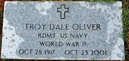 OLIVER (VETERAN WWII), TROY DALE - Sebastian County, Arkansas | TROY DALE OLIVER (VETERAN WWII) - Arkansas Gravestone Photos