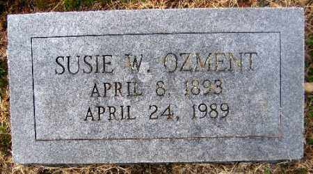 OZMENT, SUSIE W. - Sebastian County, Arkansas | SUSIE W. OZMENT - Arkansas Gravestone Photos
