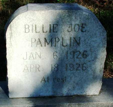 PAMPLIN, BILLIE JOE - Sebastian County, Arkansas | BILLIE JOE PAMPLIN - Arkansas Gravestone Photos